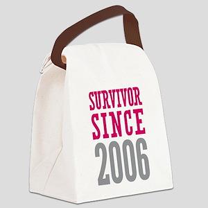 Survivor Since 2006 Canvas Lunch Bag