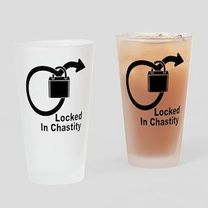 Locked Drinking Glass