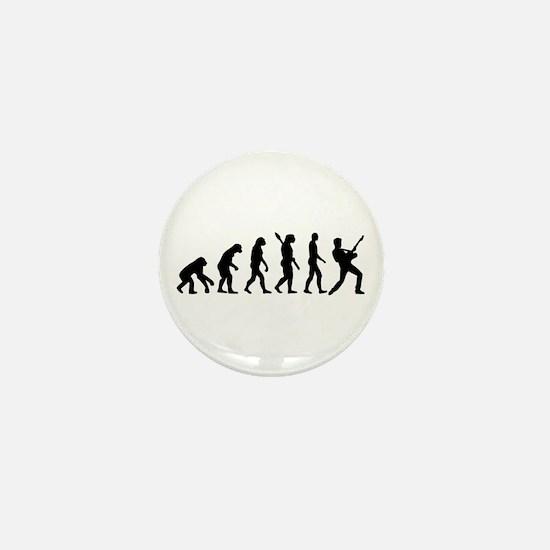 Evolution Rock musician star Mini Button