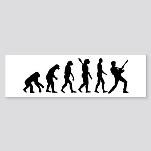 Evolution Rock musician star Sticker (Bumper)