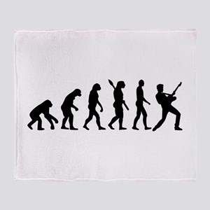 Evolution Rock musician star Throw Blanket