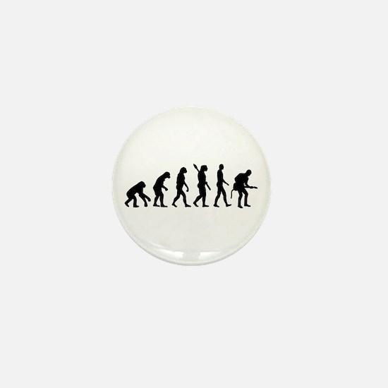 Evolution Rock musician guitarist Mini Button