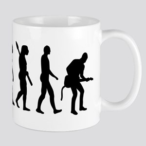 Evolution Rock musician guitarist Mug