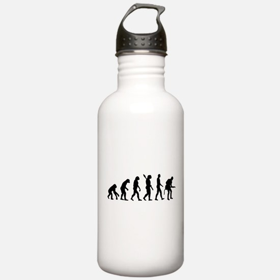 Evolution Rock musician guitarist Water Bottle
