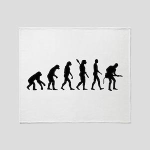 Evolution Rock musician guitarist Throw Blanket