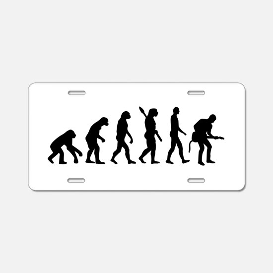 Evolution Rock musician guitarist Aluminum License