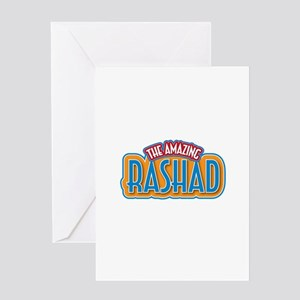 The Amazing Rashad Greeting Card
