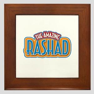 The Amazing Rashad Framed Tile