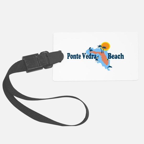Ponte Vedra - Map Design. Luggage Tag