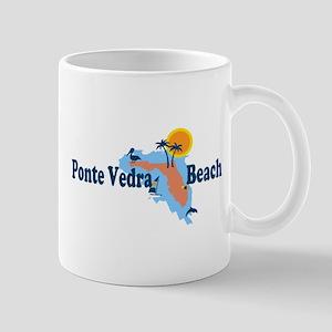 Ponte Vedra - Map Design. Mug