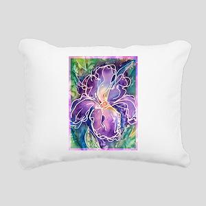 Iris! Beautiful, purple flower, Rectangular Canvas