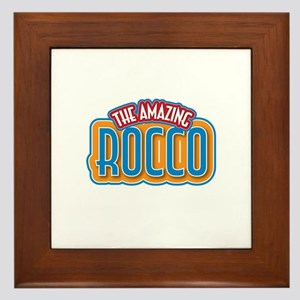 The Amazing Rocco Framed Tile