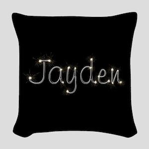 Jayden Spark Woven Throw Pillow
