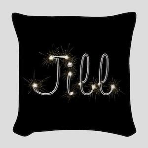 Jill Spark Woven Throw Pillow