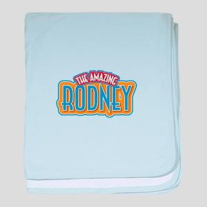 The Amazing Rodney baby blanket