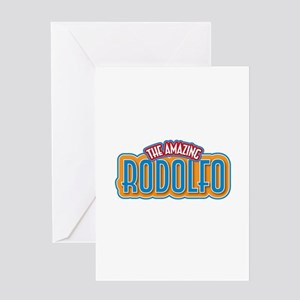 The Amazing Rodolfo Greeting Card