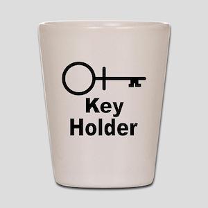 Key-Holder Shot Glass