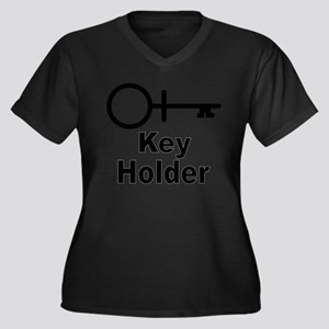 Key-Holder Plus Size T-Shirt