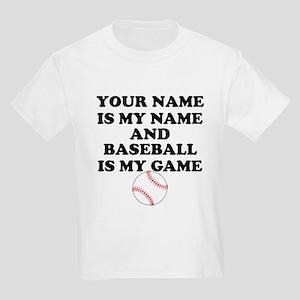 Custom Baseball Is My Game T-Shirt