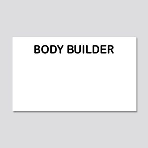BODY BUILDER Wall Decal