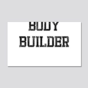 BODY BUILDER RETRO Wall Decal