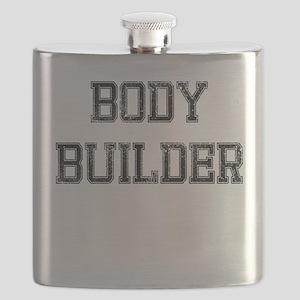 BODY BUILDER RETRO Flask