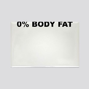 0PERCENT BODY FAT Rectangle Magnet