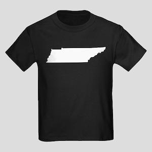 White Kids Dark T-Shirt