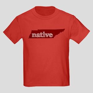 Red Native Kids Dark T-Shirt