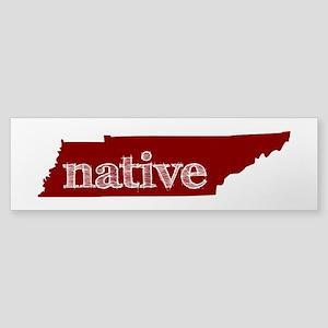 Red Native Sticker (Bumper)