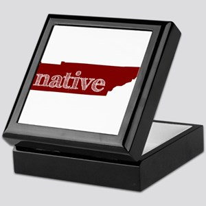 Red Native Keepsake Box