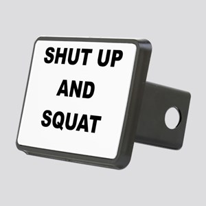 SHUT UP AND SQUAT Hitch Cover
