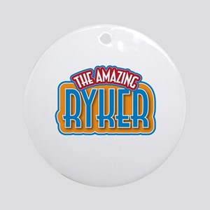 The Amazing Ryker Ornament (Round)