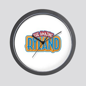 The Amazing Ryland Wall Clock
