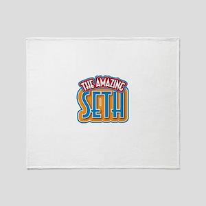 The Amazing Seth Throw Blanket