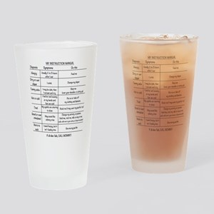 Baby instruction manual Drinking Glass
