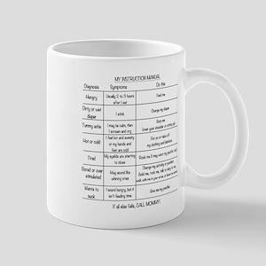 Baby instruction manual Mug