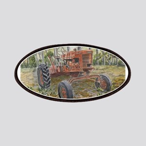 old farm tractor painting Patches
