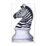 Zebra Knight 20x12 Wall Decal