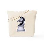 Zebra Knight Tote Bag