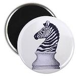 Zebra Knight Magnet