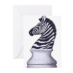 Zebra Knight Greeting Cards (Pk of 20)
