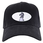 Zebra Knight Black Cap