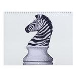Zebra Knight Wall Calendar