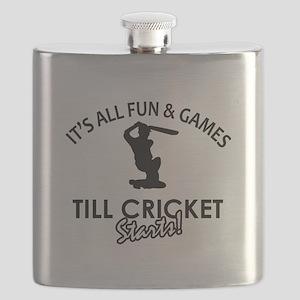 Cricket enthusiast designs Flask