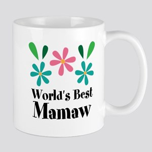 Worlds Best Mamaw Grandma Personalized Mugs