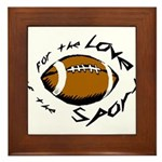Football Framed Tile