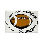 Football Rectangle Magnet (10 pack)