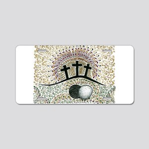 Easter Aluminum License Plate