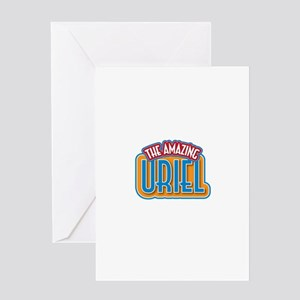 The Amazing Uriel Greeting Card